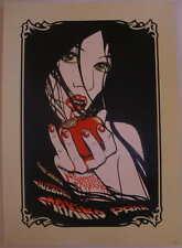 2007 Maximo Park Silkscreen Concert Poster by Malleus