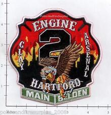 Connecticut - Hartford Engine 2 CT Fire Dept Patch  Clay Arsenal