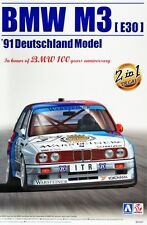 Aoshima BEEMAX 1/24 Model Kit BMW E30 M3 Sport Evolution DTM '91 Cecotto/Soper