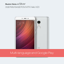 Xiaomi Redmi Note 4 GOLD 64GB 3GB RAM Mediatek MT6797 Helio X20 SEALED PACK
