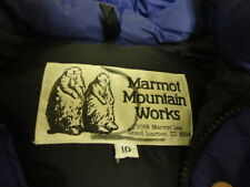 VINTAGE MARMOT GOOSE DOWN JACKET GREAT COND NOT MUCH USED MADE IN USA WON 10