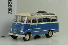 1960 Mercedes-Benz o319 bus Blue Blu Crema 1:18 NOREV