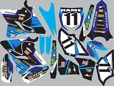2015-2016 Yamaha YZ125 YZ250 YZ 125 250 Graphics Decal fender shrouds stickers