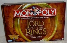 Monopoly LOTR The Lord of The Rings Trilogy Edition Complete 2003 Board Game