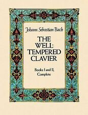 The Well-Tempered Clavier: Books I and II, Complete (Dover Music for Piano), Cla