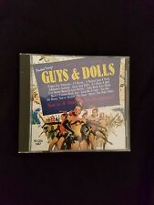 You Sing the Songs of Guys and Dolls