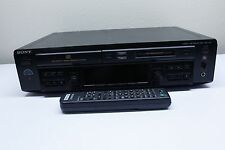 Sony CD Compact Disc Minidisc Deck MXD-D40 w Remote Player Recorder TESTED FAST