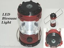 Camping Lantern Bivouac Hiking Camping Light 12 LED Lamp Portable with Compass