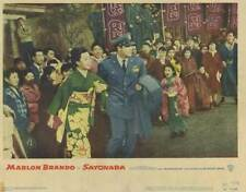 SAYONARA Movie POSTER 11x14 Marlon Brando Patricia Owens James Garner Martha