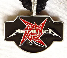METALLICA HEAVY METAL PENDANT MENS BOYS GIRLS NECKLACE     BP045