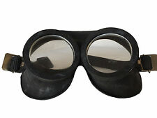 Genuine Vintage Cold War Soviet Era Black Rubber Goggles Fetish or Role Cos Play