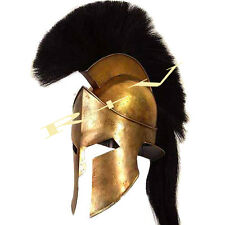 ROMAN 300 SPARTAN HELMET KING LEONIDAS MOVIE REPLICA HELMET LARP GREEK HELMET