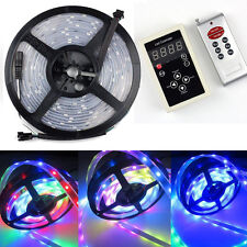 Waterproof 5M LPD 6803 5050 Dream Magic RGB LED Strip 133 Color + RF Controller