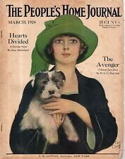 1924 People's Home Journal March-Wire hair Fox Terrier; Earl Christy; R Schuyler