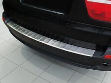 BMW X5 E70 2007 - 2011 Stainless Steel Rear Bumper Protector