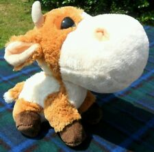 ANIMALI DELLA FATTORIA MUCCA PELUCHE - Cow Big Headz Plush Goodness Gang