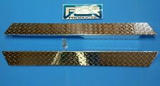 Diamond Plate Full Side Rocker Panels for Club Car Precedent Golf Carts Custom
