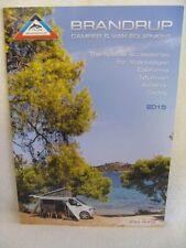 Brandrup 2015 VW Campers & Van Equipment Brochure