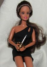 BARBIE KEN PLASTIC DAGGER KNIFE WEAPON ROMEO ACCESSORY FOR DOLL DIORAMA