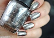 OPI San Francisco *HAVEN'T THE FOGGIEST* Metallic Silver Nail Polish Lacquer F55