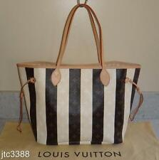 RARE SOLD OUT VGUC Louis Vuitton SPAIN RAYURES Neverfull MM Shoulder Bag