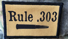 Rule 303 with BULLET Morale Patch Breaker Morant Boer War Milspec  Lee Enfield