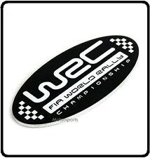 Wrc World Rally Insignia Emblema Fia Sti Wrx Metal Auto Subaru Impreza Rally (90)