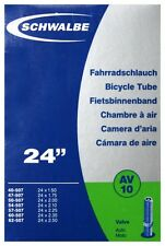 Schwalbe Fahrrad Schlauch AV10/ Autoventil/ 24 Zoll