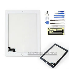 FOR APPLE IPAD2 WHITE NEW REPLACEMENT LCD TOUCH SCREEN DIGITIZER FRONT GLASS UK