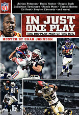 NFL: In Just One Play - The Big-Play Men of the NFL DVD Region 1   NEW