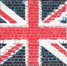 """3 Servietten Napkins London """"United Kingdom - England"""" Wappen Fahne Vintage #487"""