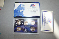 2006,United States Mint 50 Quarters Proof Set,5 Coins,Coa,Gift,Cheap Shipping,#6