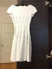 BNWT gorgeous Alaia white dress sz 36