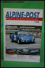 Alpine Post 1/08 A 310 V6 Werkstyp D 509