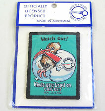 VINTAGE NEW ZEALAND 1992 WORLD CUP CRICKET SOUVENIR PATCH WOVEN SEW-ON BADGE