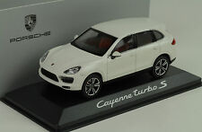 2013 Porsche Cayenne turbo white weiss 1:43 Minichamps WAP Dealer