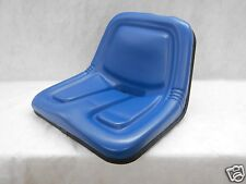 BLUE SEAT FOR FORD LAWN MOWER, LAWN & GARDEN FARM, COMPACT, UTILITY TRACTORS #CS