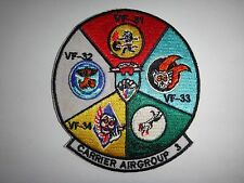 US Navy Patch CARRIER AIR GROUP THREE With VF-31, VF-32 ,VF-33, VF-34 And VF-35