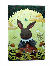 For New iPad Mini 1 2 3 Rabbit Bunny Design Floral Spring Smart Stand Case Cover
