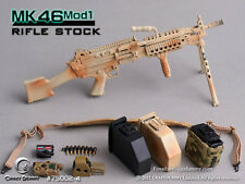*Brand New* Crazy Dummy 1/6 Scale MK46MOD1 - Rifle Stock (Camouflage) *US Seller