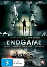 Endgame - William Hurt Jonny Lee Miller DVD NEW