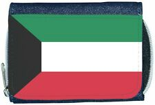 Kuwait Flag Denim Wallet