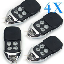 4 x Remote Control For ATA PTX-4 SecuraCode Compatible Garage Door Replacement