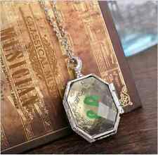 Harry Potter Slytherin Locket Horcrux Kit pendant&necklace Fine Jewelry