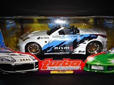 Muscle Machines Nissan 350Z Convertible Custom 1/18 RARE