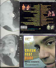 Brad Roberts Crash Test Dude Ultrarare ADV 2CD 2000 Crash Test Dummies