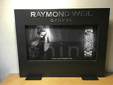 Used in shop - Display RAYMOND WEIL Expositor - 54 x 42 cm - Usado en tienda