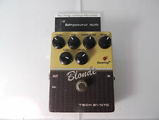 TECH 21 BLONDE SANSAMP CHARACTER SERIES OVERDRIVE EFFECTS PEDAL FREE USA SHIP