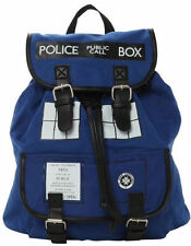 Doctor Who Tardis Buckle Slouch Bag Dr Who POLICE BOX Backpacks
