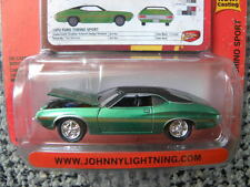 1972 FORD TORINO SPORT        2009 JOHNNY LIGHTNING MUSCLE CARS   1:64 DIE-CAST